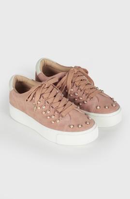 Joie Handan Pearl Suede Sneaker