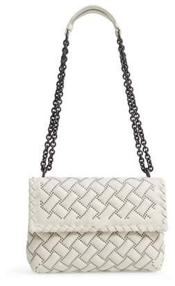 Bottega Veneta Small Olympia Studded Leather Shoulder Bag