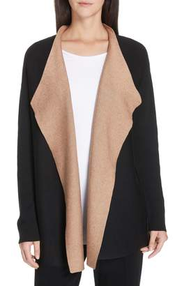 Eileen Fisher Reversible Silk Blend Cardigan