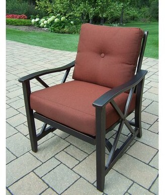 Oakland Living Haywood Deep Seating Chair with Cushions Oakland Living