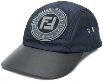 Fendi FF logo patch cap