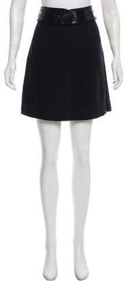Etro Belted Mini Skirt