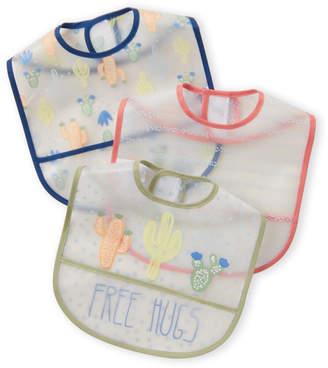Baby Essentials Chick Pea (Newborn Boys) 3-Pack Free Hugs Baby Bibs