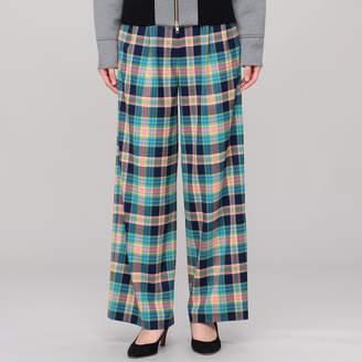 Ambell (アンベル) - アンベル Madras check pants