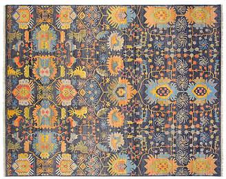 F.J. Kashanian 8'x10' Sari Wool Liam Rug - Navy