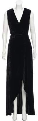 Alice + Olivia Simmons Velvet Dress