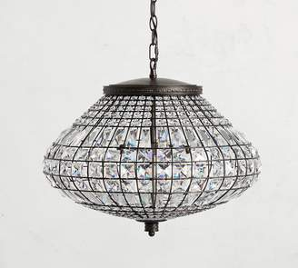 Pottery Barn Adora Crystal Chandelier