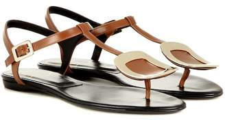 Roger Vivier Thong Chips leather sandals