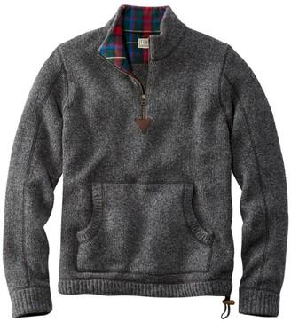 L.L. Bean Men's L.L.Bean Classic Ragg Wool Sweater, Anorak