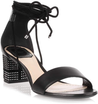 Christian Dior Stellar 55 black leather sandal