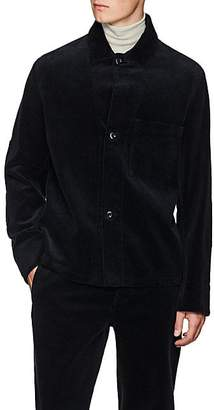 Margaret Howell Men's Cotton Corduroy Shirt Jacket - Navy