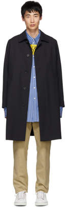 BOSS Navy Wool Gustav Coat