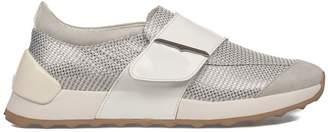Alberto Guardiani (アルベルト グァルディアーニ) - Gray Sport Lady Suede Slip On Sneakers
