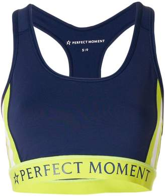 Perfect Moment logo fitness top