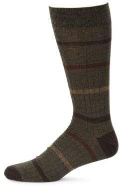 Saks Fifth Avenue COLLECTION Simple Stripe Socks