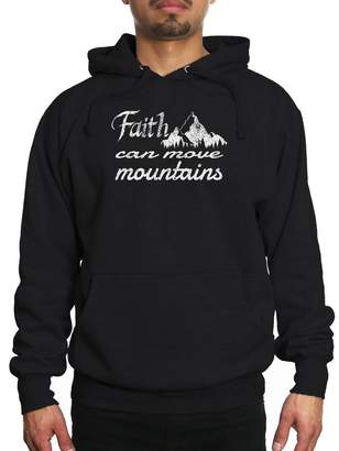 Möve Young Motto Men's FAITH CAN MOUNTAINS Hoodie