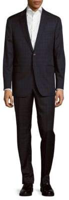 Todd Snyder Classic Fit Windowpane Wool Suit