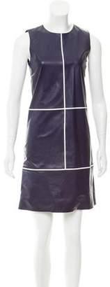 Salvatore Ferragamo Sleeveless Leather Dress w/ Tags