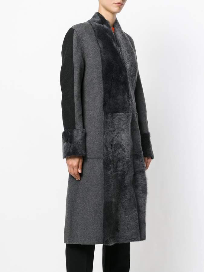 Lorena Antoniazzi panelled coat