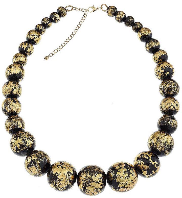 Splattered Bead Necklace