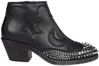 McQ Studded Ankle Boots