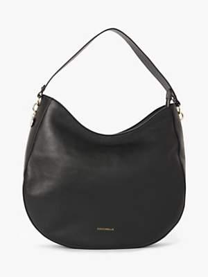 Coccinelle Alpha Leather Hobo Bag