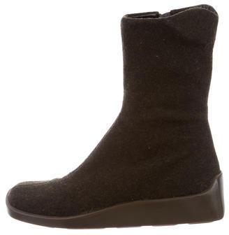 pradaPrada Woven Ankle Boots