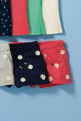 Next Girls Red Daisy Shorts (3-16yrs)