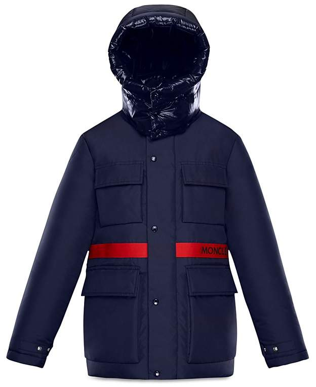 Moncler Boys' Perpignan Mixed Media Down Jacket - Little Kid, Big Kid