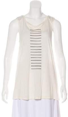 Rag & Bone Sleeveless Stripe T-shirt