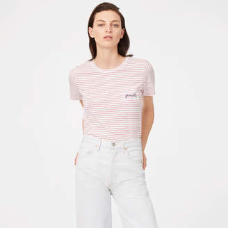 Club Monaco Leary Embroidered Tee