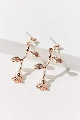 Urban Outfitters Rose Statement Drop Earring