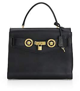 Versace Women's Icon Leather Satchel Bag