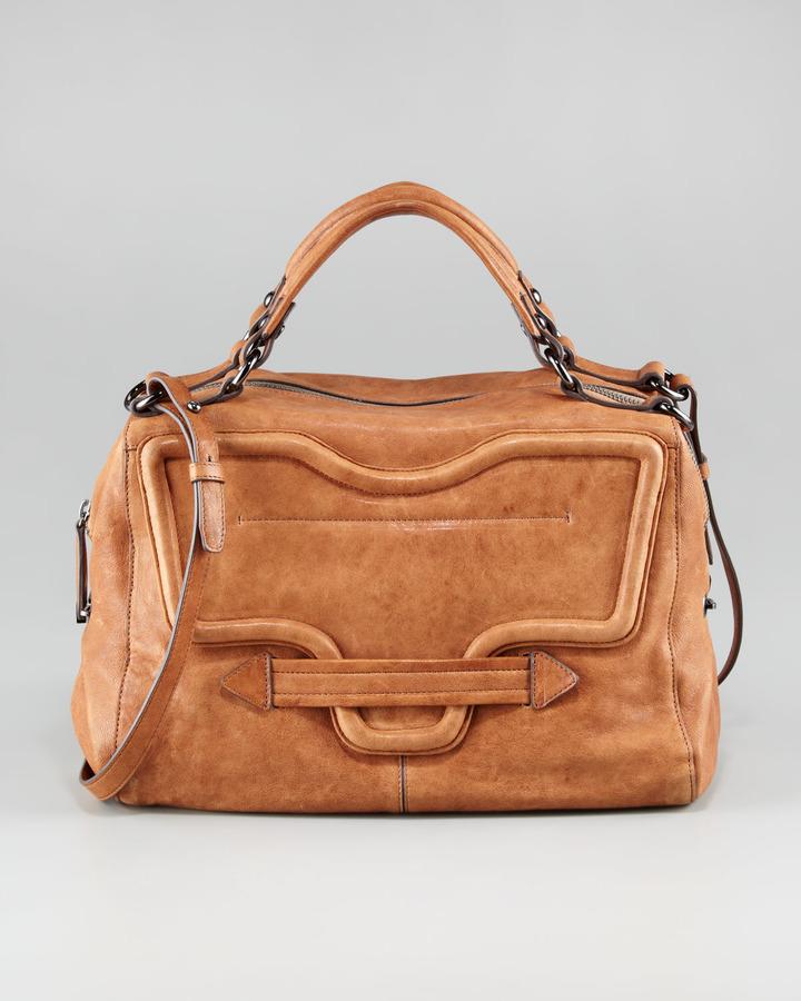 Kooba Grove Leather Satchel Bag