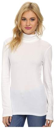 Splendid 1x1 Long Sleeve Turtleneck Women's Long Sleeve Pullover