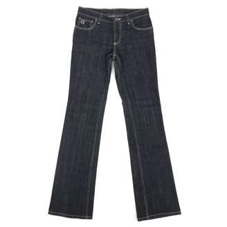 Louis Vuitton Grey Cotton - elasthane Jeans