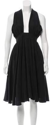Rachel Antonoff Plunging Neckline Midi Dress w/ Tags