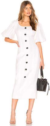 Shona Joy Gaia Fitted Midi Dress