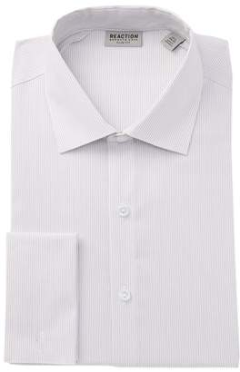 Kenneth Cole Reaction Striped Slim Fit Dress Shirt