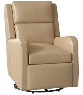 Bradington-Young Willow Leather Power Wall Hugger Recliner with Articulating Headrest Bradington-Young