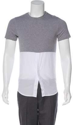 Kris Van Assche Short Sleeve Crew Neck T-Shirt