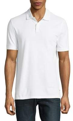 Black & Brown Black Brown Cotton Short-Sleeve Polo
