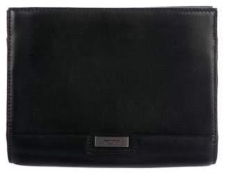 Tumi Leather Crossbody Bag
