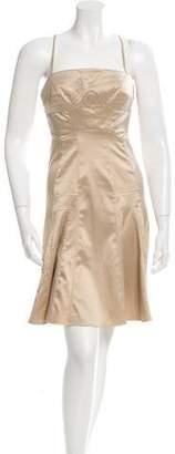 Just Cavalli Sleeveless Flared Dress