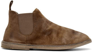 Marsèll Brown Suede Beatles Boots