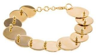 Eddie Borgo Pinned Paillette Overlapping Disc Bracelet