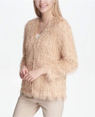 Calvin Klein Eyelash Sequin-Embellishment Jacket