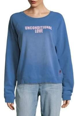 Peace Love World Unconditional Love Sweater