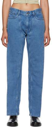 Y/Project Blue XL Pocket Jeans