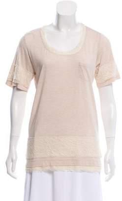 Diane von Furstenberg Silk-Blend Bathe Top